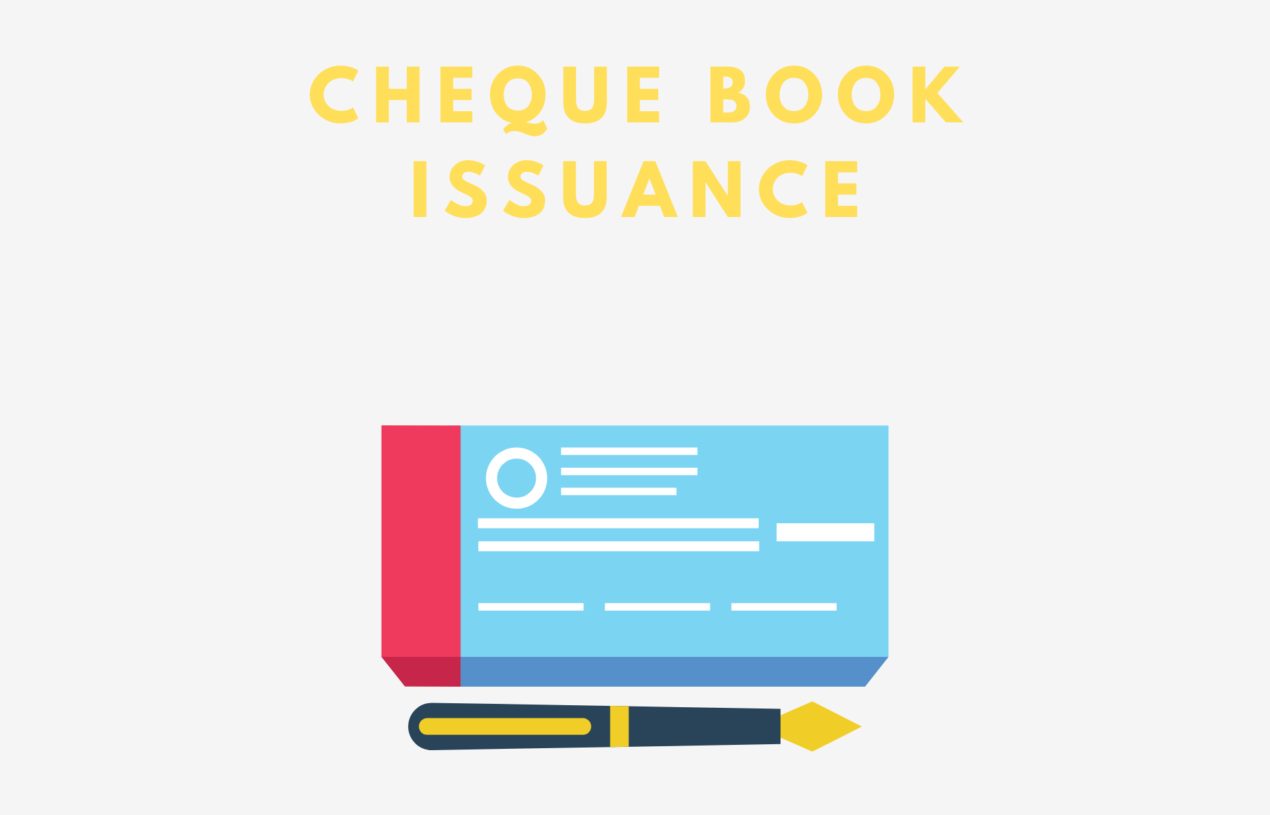 Cheque Book Issuance